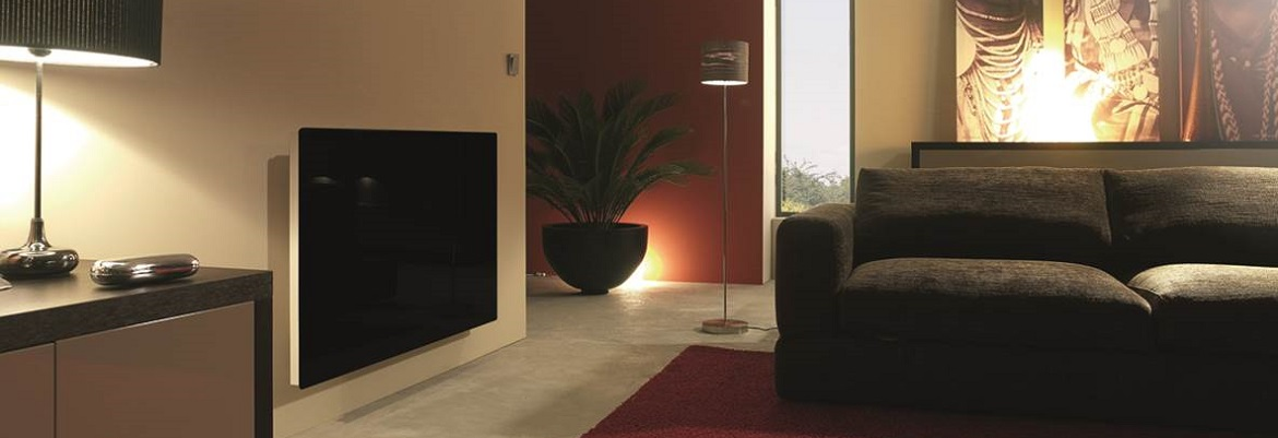 LAVA Glass panels are excellent infrared emitters with minimal convection