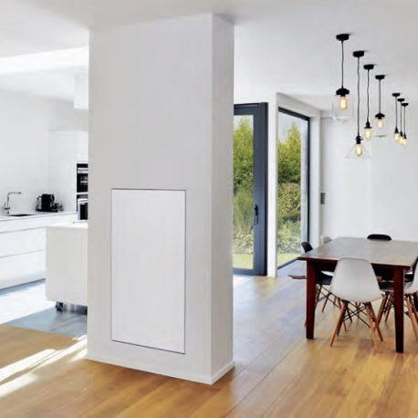 Lava Frame kitchen heating