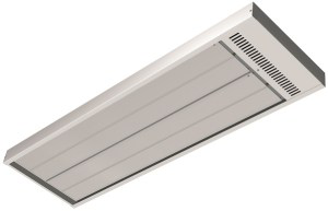ETHERMA EZ Infrared heaters are an ideal solution for workshop heating or zone heating in a large commercial garage