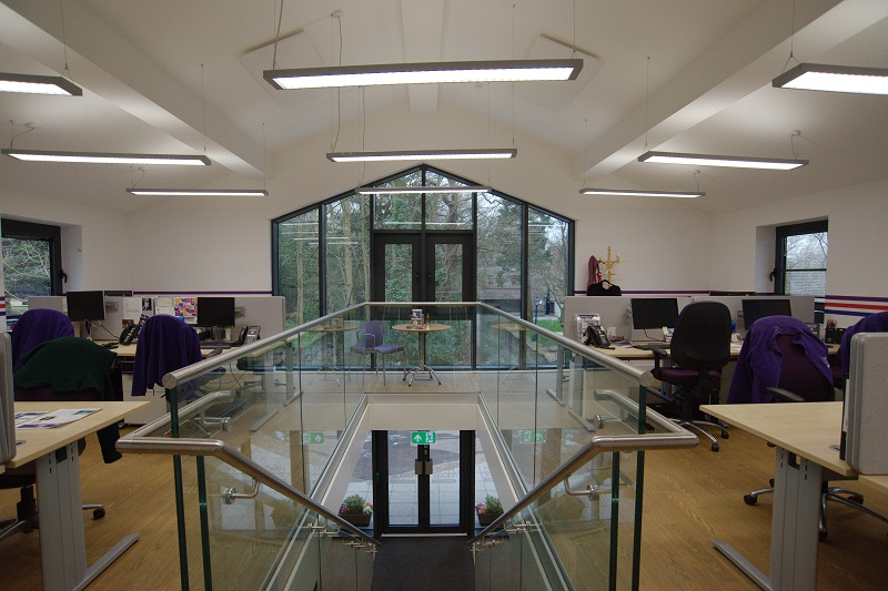 Energy Efficient Infrared Office Heating Energy