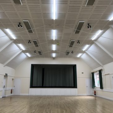 Heating large spaces with high ceilings