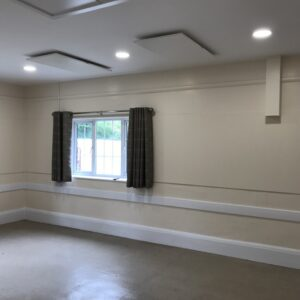Meeting room infrared heating -LAVA 750W panels