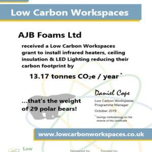 Carbon Saving Certificate