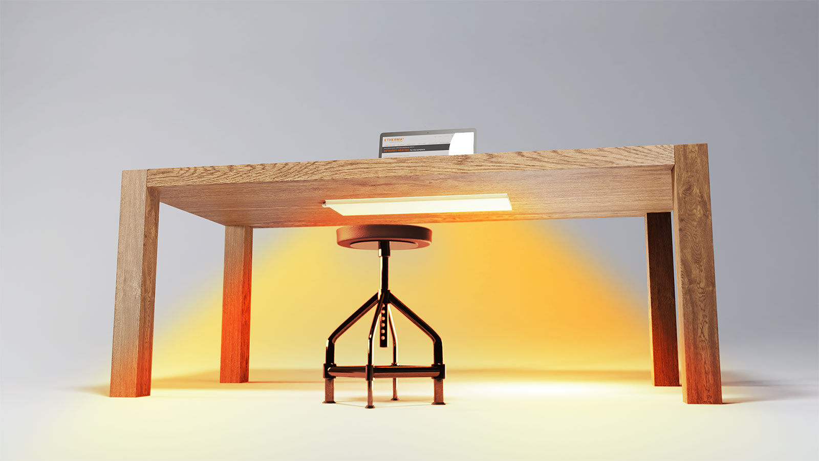 Lava Desk 2 0 Infrared Heater Energy Efficient Heating Arc Thermal Products